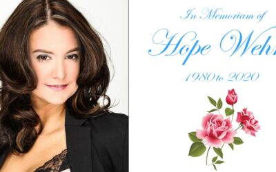 In Remembrance of Hope Wehrle