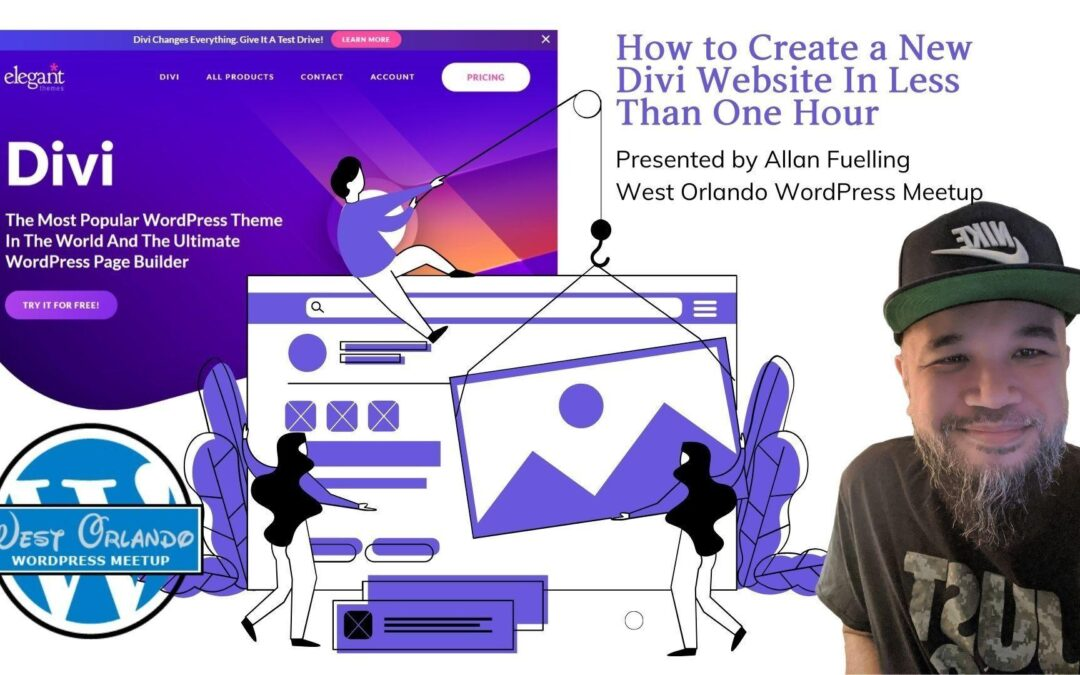 How to Create a New Divi Site In Less Than One Hour – Allan Fuelling
